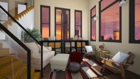 My Dallas Home - Living room - by ISISANGELB