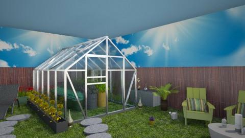Indoor_gardening  - Country - Garden - by Gre_Taa