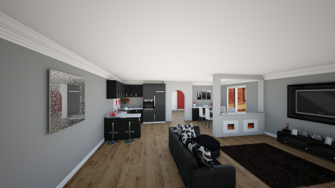 kitchen - by jillofish