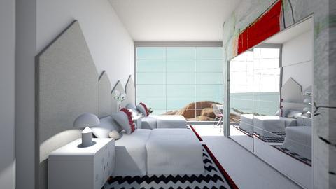 Casa164Bedroom2 - Rustic - Kids room - by nickynunes