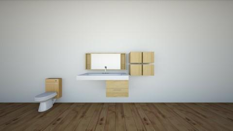 bathroom - by Isabella Mastroianni