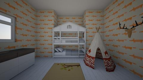 kids hide away - Kids room - by Lost girl