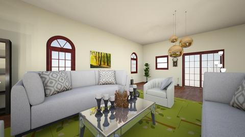 living room - by Evoh Lopez