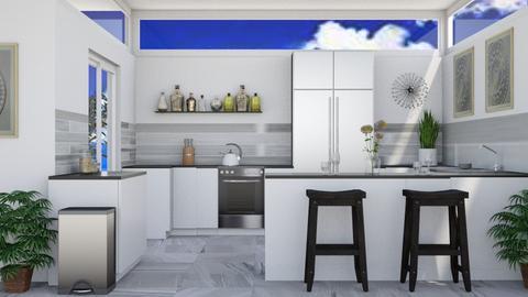 Summer Kitchen - Modern - Kitchen - by millerfam