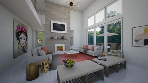Small cabana - Living room - by flacazarataca_1