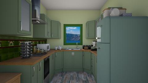631 - Kitchen - by Jade Autumn