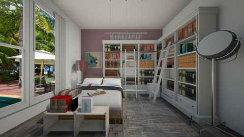 book by book - Classic - Bedroom - by Lucii