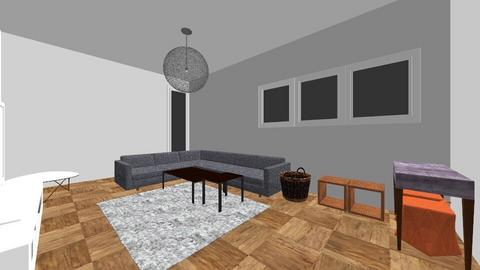 salon maman 3 - Living room - by Studio Shanka