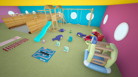 area de juegos - Modern - Kids room - by ASU ARQUITECTURA