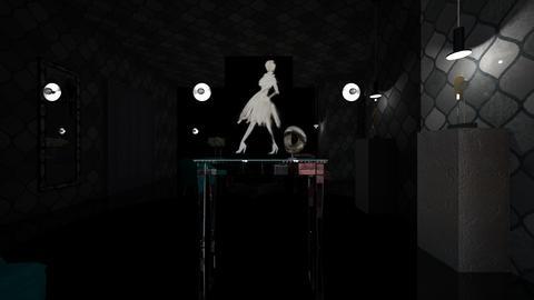 dark paris living room - Living room - by pmochtakova