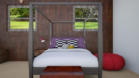 Family House Boys Barn - Bedroom - by d4so9h