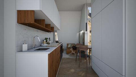 Casa338Kitchen - Modern - Kitchen - by nickynunes