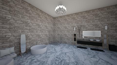 Modern Bathroom - Modern - Bathroom - by stokeshannah