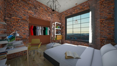 New Town - Living room - by nelly_wreland