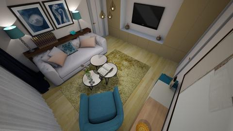 Nicoleta Tugui - Living room - by Flori Santa
