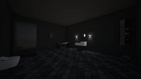 zens bathroom - Bathroom - by carcioGeneticist