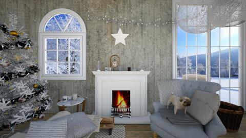 Winter Wonderland - Living room - by Simonexx