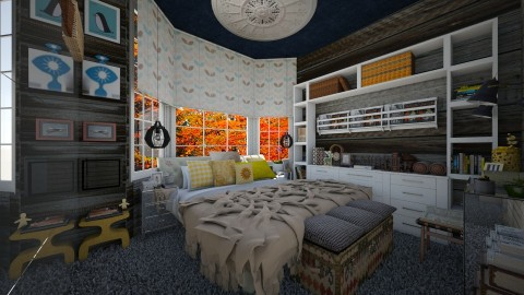 project room 1 - Bedroom - by Eleni Irini