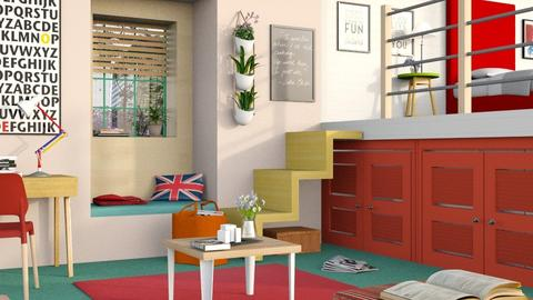 Students Bedroom 2 - Bedroom - by Sally Simpson