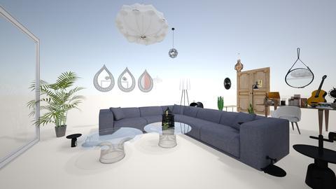 Andrea Hegewish living  - Living room - by Karina y Pablo