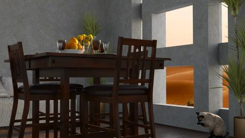 Desert Evening - Global - Dining room - by millerfam