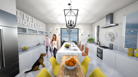 ECLECTIC KITCHEN - by NFP