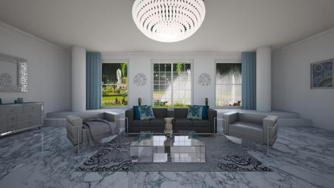 Modern Marble - Modern - Living room - by luxury style
