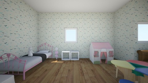 Play room - Feminine - Kids room - by Molly Glover