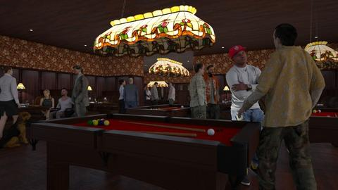 Snooker Pub - by Valentinapenta