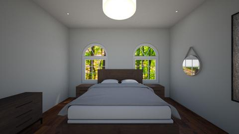 master bedroom - Bedroom - by hallefran
