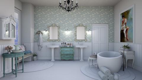 Bath - by Teresa Valdes Beso