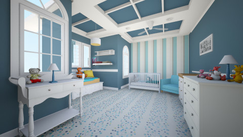 classic - Classic - Kids room - by Marie_415