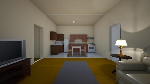 Mid Size Apartment - Living room - by WestVirginiaRebel