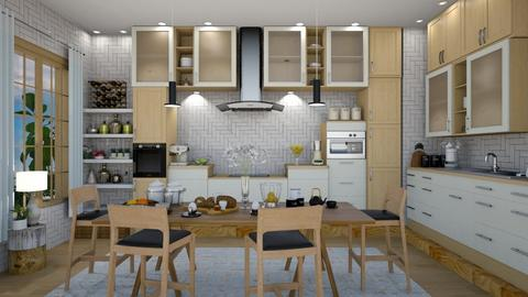Scandinavian kitchen - Kitchen - by mari mar