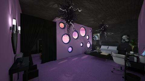 Magic Bedroom - Bedroom - by Stacy the Little Devil