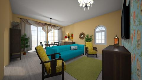 Anastasia Chadrantseva - Living room - by Anastasia Chadrantseva