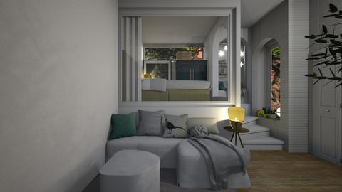 House347LivingAndSleeping - Living room - by nickynunes