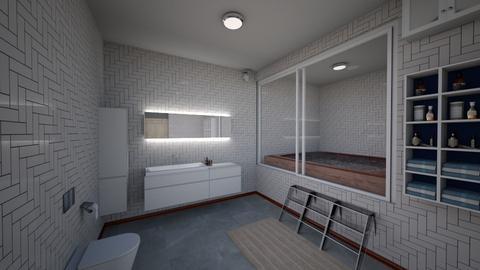 Bedroom05FACs - Masculine - Bathroom - by Isaac R