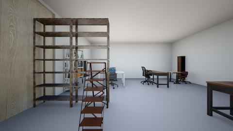 La poubelle  - Office - by rowanos