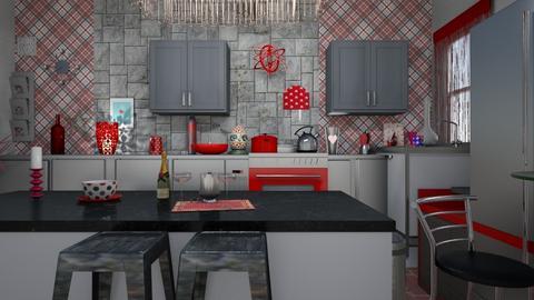 modern kitchen - by deemuri_co