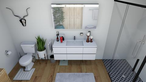 MasterBath - Bathroom - by DawnieRotten