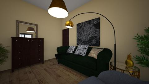 StudioFlat - Living room - by Rebeka Kri