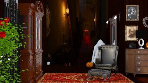 M_ Halloween Hallway - by milyca8