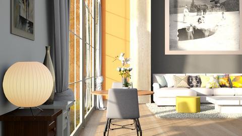 Big_Ball - Living room - by ZuzanaDesign
