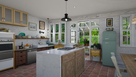 English Country Kitchen - by LizyD