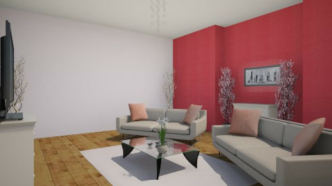 woonkamer roze - Living room - by illyanaxx