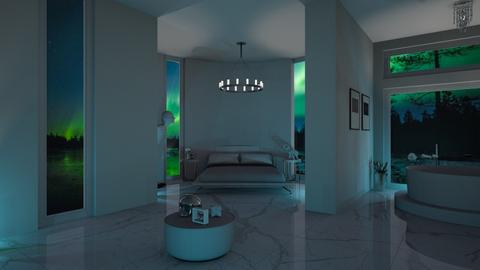 Northern lights bedroom  - Modern - by Dayanna Vazquez Sanchez