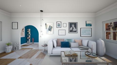 Cozy Scandinavia - Living room - by Vivier Chen