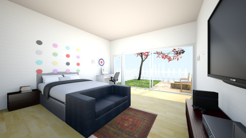 Future Bedroom - Living room - by Gusti A Prabowo