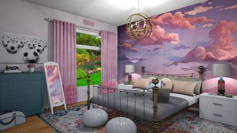 teenage dreams - Bedroom - by cp_interiors